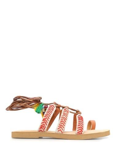 Coral Sandalet
